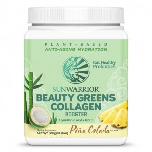 Beauty greens collagen booster - pina colada - 300g