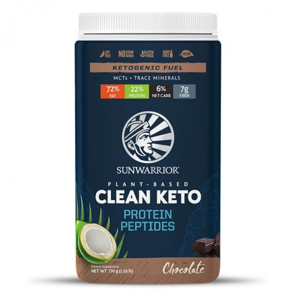 Clean keto protein peptides - chocolate - 720g