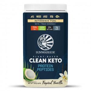 Clean keto protein peptides - vanilla - 720g