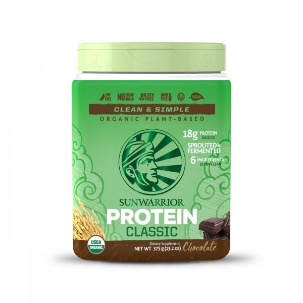 SUNWARRIOR Protein Chocolate - 15 porzioni - 375g