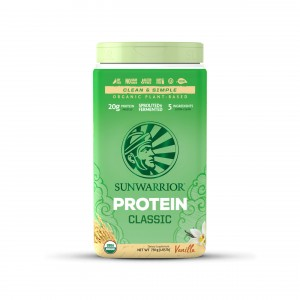 SUNWARRIOR Protein Vanilla - 30 porzioni - 750g