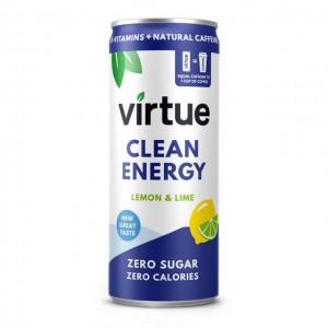 Energy drink Virtue - Limone e Lime - 12 lattine