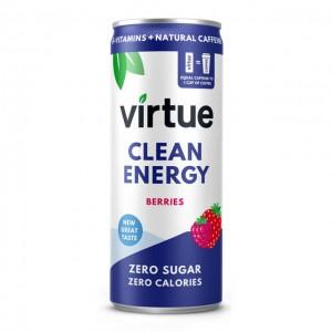 Energy drink Virtue - Frutti di bosco - 12 lattine